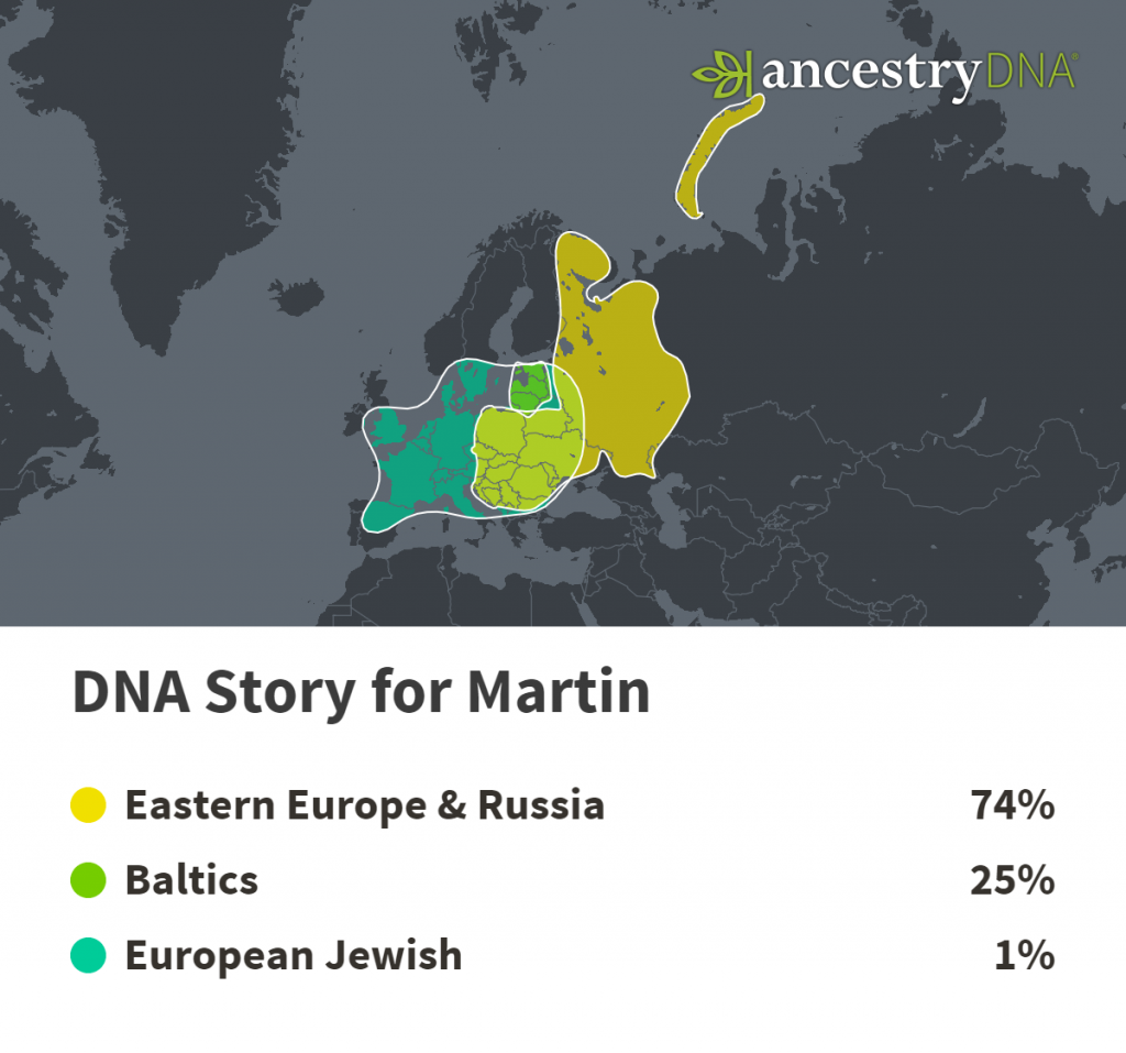 DNA genetic map