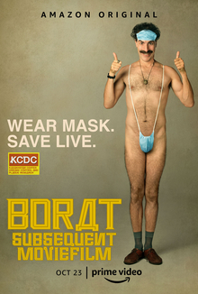 Borat Covid 19 face mask